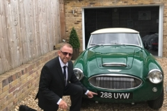 Austin Healey British Racing Green