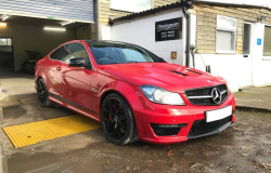 Mercedes C63 AMG 507 Red